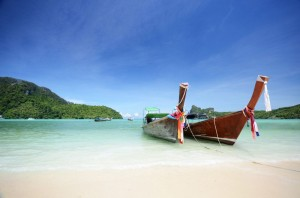 Am Strand von Ko Phi Phi