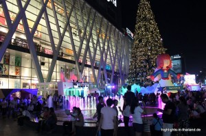 Central World zu Weihnachten