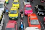 Taxi, Tuk Tuk, und Motocy Taxis