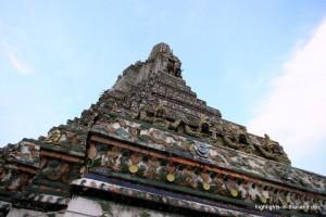 das Porzellan am Wat Arun