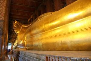 der liegende Buddha